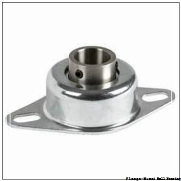1.2500 in x 3.6200 in x 4.6800 in  Dodge F4BDLEZ104SHCR Flange-Mount Ball Bearing