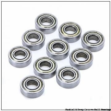 4,762 mm x 12,7 mm x 3,96 mm  Timken 33KDD5 Radial & Deep Groove Ball Bearings