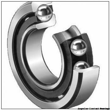 90 mm x 160 mm x 30 mm  Rollway 7218 BM Angular Contact Bearings