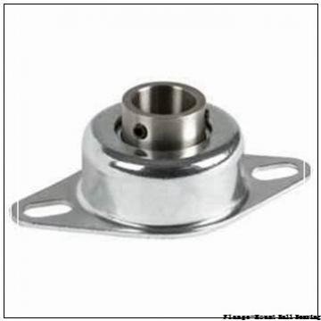 1.9375 in x 4.3800 in x 5.6300 in  Dodge F4BSC115FF Flange-Mount Ball Bearing