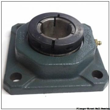 0.9375 in x 3.0000 in x 3.7500 in  Sealmaster TFT-15TC-1 Flange-Mount Ball Bearing
