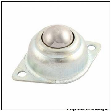 3-15/16 in x 9.1900 in x 12.8800 in  Dodge F4BK315RE Flange-Mount Roller Bearing Units