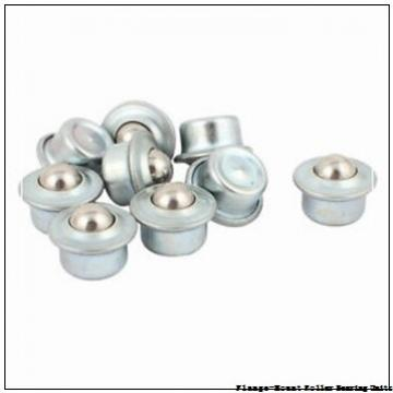 2 in x 4.0600 in x 5.3100 in  Dodge F4BUN2200 Flange-Mount Roller Bearing Units