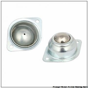 2-7/16 in x 5.3750 in x 6.8750 in  Rexnord MEF5207 Flange-Mount Roller Bearing Units