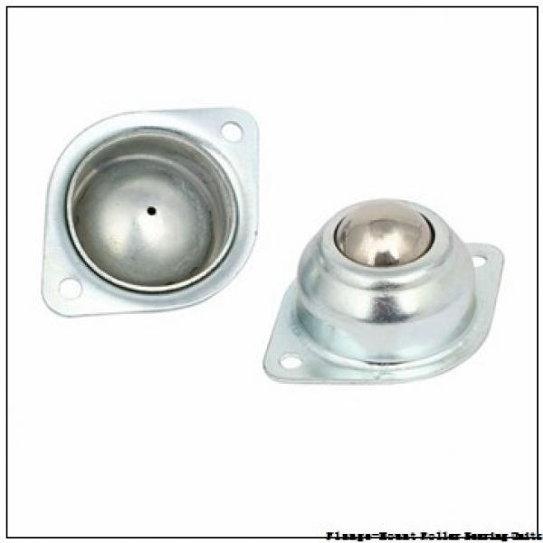 4-15/16 in x 11.3100 in x 7.2500 in  Dodge F4BDI415RE Flange-Mount Roller Bearing Units #2 image